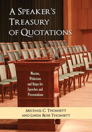 Speaker's Treasury of Quotations