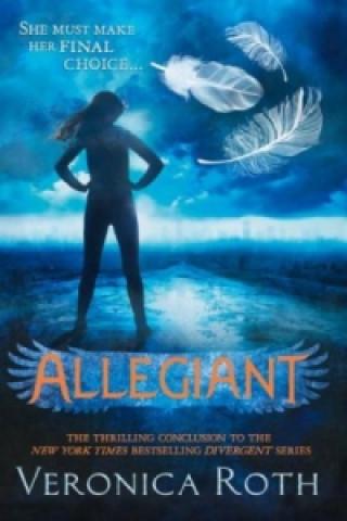 Kniha Allegiant 3. Veronica Roth