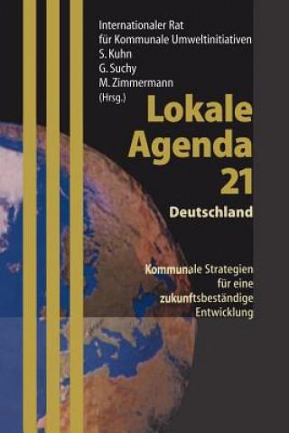 Carte Lokale Agenda 21 - Deutschland A. Merkel