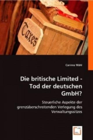 Die britische Limited - Tod der deutschen GmbH?