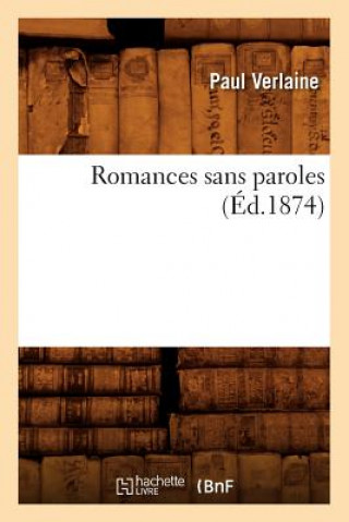 Romances Sans Paroles (Ed.1874)