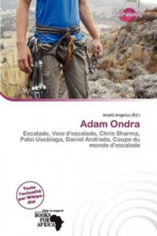 Könyv Adam Ondra
