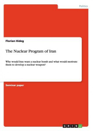 The Nuclear Program of Iran