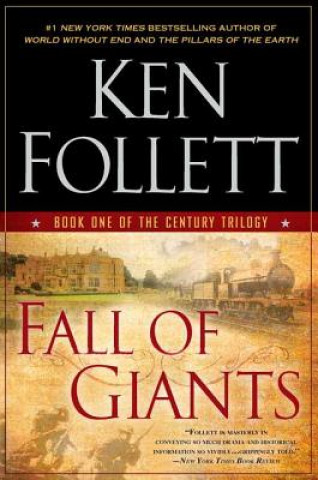 Carte Fall of Giants Ken Follett