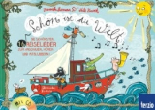Könyv Schön ist die Welt, m. Audio-CD Franziska Biermann