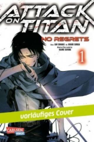 Carte Attack on Titan - No Regrets. Bd.1 Hajime Isayama