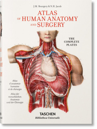 Carte Jean Marc Bourgery. Atlas of Human Anatomy and Surgery Henri Sick