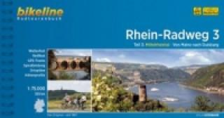 Bikeline Radtourenbuch Rhein-Radweg. Tl.3