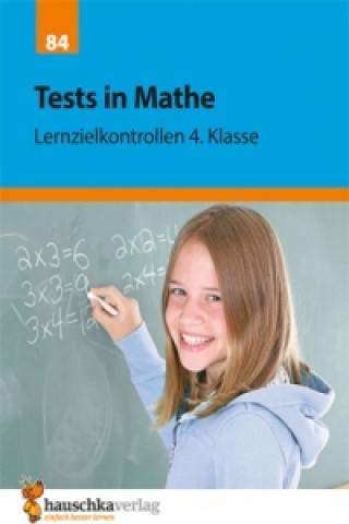 Könyv Tests in Mathe - Lernzielkontrollen 4. Klasse Agnes Spiecker