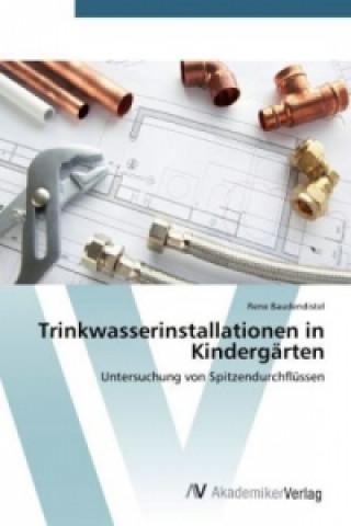 Trinkwasserinstallationen in Kindergärten