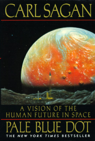 Carte Pale Blue Dot Carl Sagan