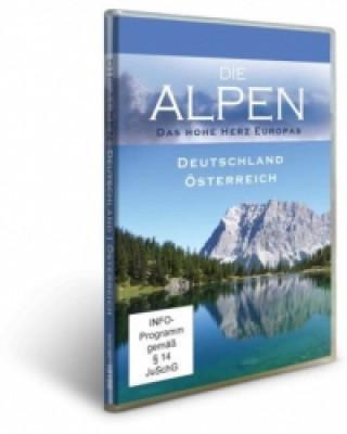Die Alpen - Deutschland & Österreich, 1 DVD
