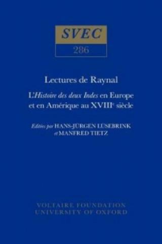 Carte Lectures de Raynal
