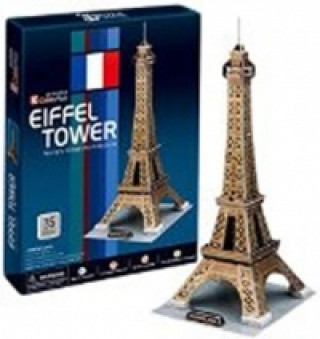 Puzzle 3D Eiffelova věž - 35 dílků