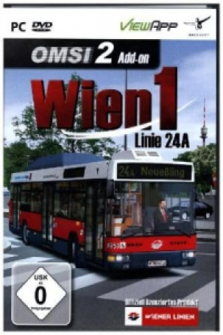 OMSI 2 - AddOn Wien 1 Linie24A, 1 DVD-ROM