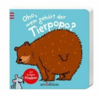 Kniha Oho, wem gehört der Tierpopo? Thorsten Saleina