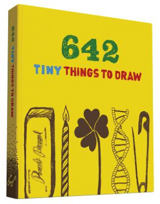 Calendar / Agendă 642 Tiny Things to Draw Chronicle Books