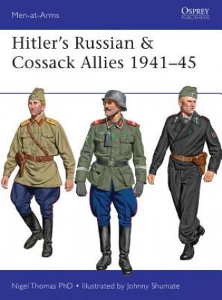 Carte Hitler's Russian & Cossack Allies 1941-45 Nigel Thomas