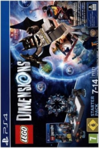 LEGO Dimensions Starter-Pack, PS4-Blu-ray Disc