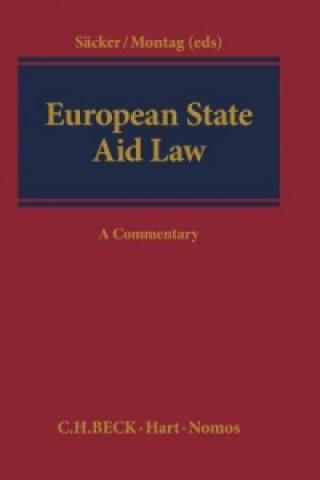 Carte EUROPEAN STATE AID LAW Franz Jürgen Säcker