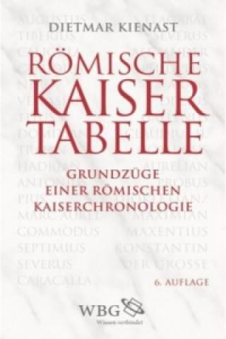 Carte Römische Kaisertabelle Dietmar Kienast