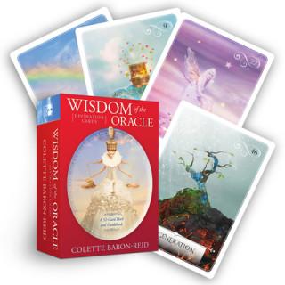 Materiale tipărite Wisdom of the Oracle Divination Cards Colette Baron Reid