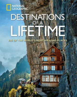 Carte Destinations of a Lifetime National Geographic