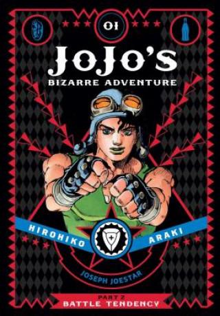 Carte JoJo's Bizarre Adventure: Part 2--Battle Tendency, Vol. 1 Horihiko Araki