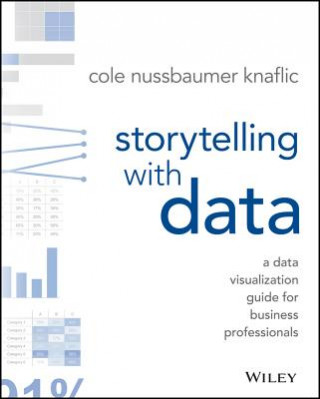 Kniha Storytelling with Data Cole Nussbaumer Knaflic