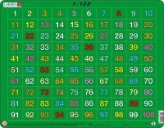 Puzzle MAXI - 1-100 /100 dílků