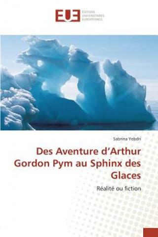 Könyv Des Aventure d'Arthur Gordon Pym Au Sphinx Des Glaces Yebdri-S