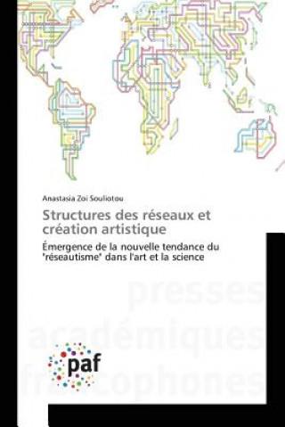 Carte Structures Des Reseaux Et Creation Artistique Souliotou-A