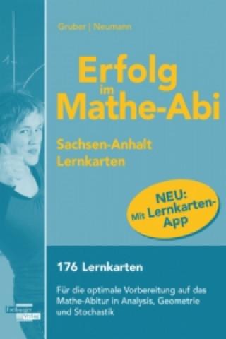 Erfolg im Mathe-Abi 2016 - Lernkarten mit App, Ausgabe Sachsen-Anhalt