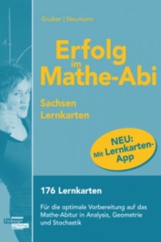 Erfolg im Mathe-Abi 2016 - Lernkarten mit App, Ausgabe Sachsen
