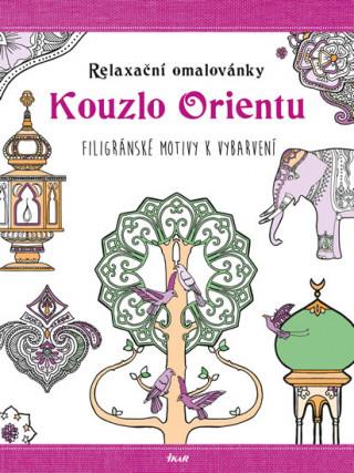 Relaxační omalovánky Kouzlo Orientu