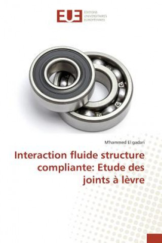 Kniha Interaction Fluide Structure Compliante El Gadari M'Hammed