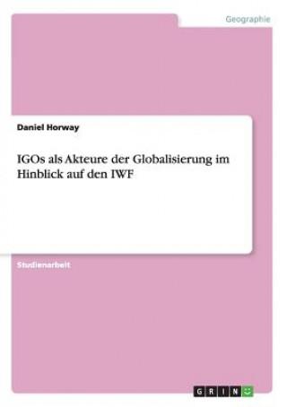 Carte IGOs als Akteure der Globalisierung im Hinblick auf den IWF Daniel Horway