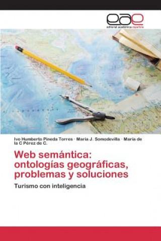 Könyv Web semántica: ontologías geográficas, problemas y soluciones Pineda Torres Ivo Humberto