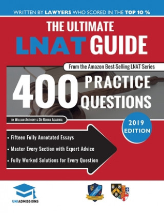 Kniha Ultimate LNAT Guide: 400 Practice Questions William Anthony