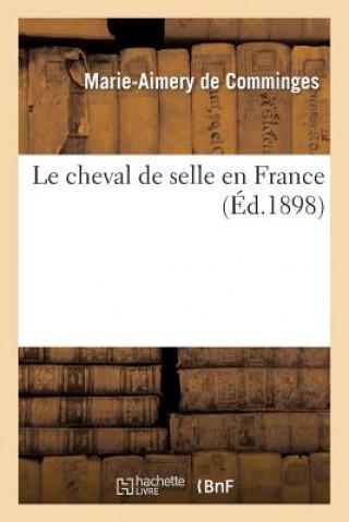 Carte Cheval de Selle En France Marie-Aimery De Comminges