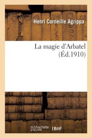 Carte La magie d'Arbatel Agrippa-H