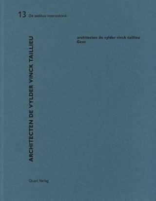 Kniha Architecten de Vylder Vinck Taillieu Heinz Wirz