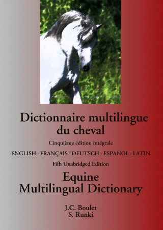 Carte Dictionnaire multilingue du cheval / Equine Multilingual Dictionary Steffen Runki