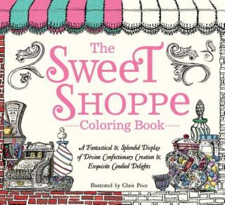 Carte Sweet Shoppe Coloring Book Chris Price