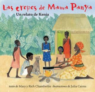 Carte Las crepes de Mama Panya Mary Chamberlain