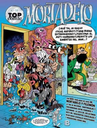 Carte Mortadelo y Filemón 59/ Mort & Phil Francisco Ibanez