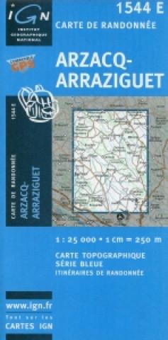 Arzacq Arazzi 1 : 25 000