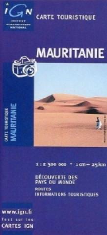 Mauritanie 1 : 2 500 000