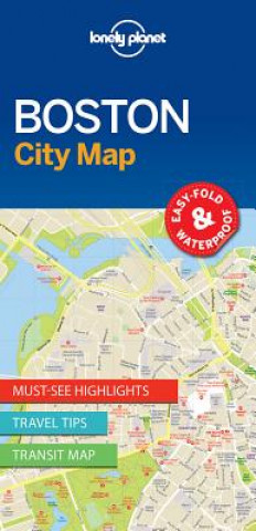 Lonely Planet Bostoncity Map
