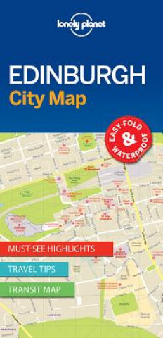 Lonely Planet EdinburghCity Map